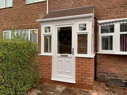 Image 27 - This porch £2800 fully fitted inc brick base tiled roof