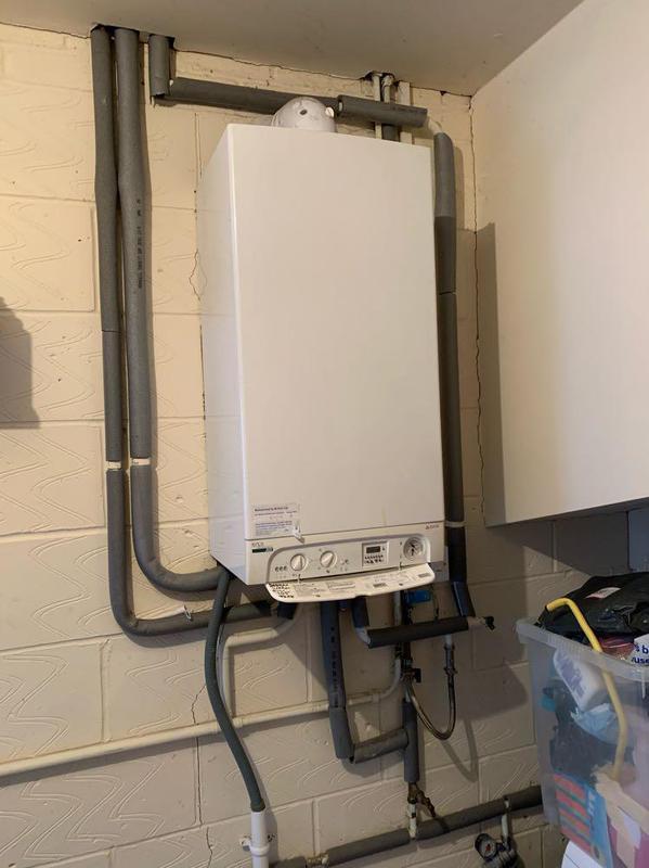 Image 57 - Removal of old Biasi combi boiler