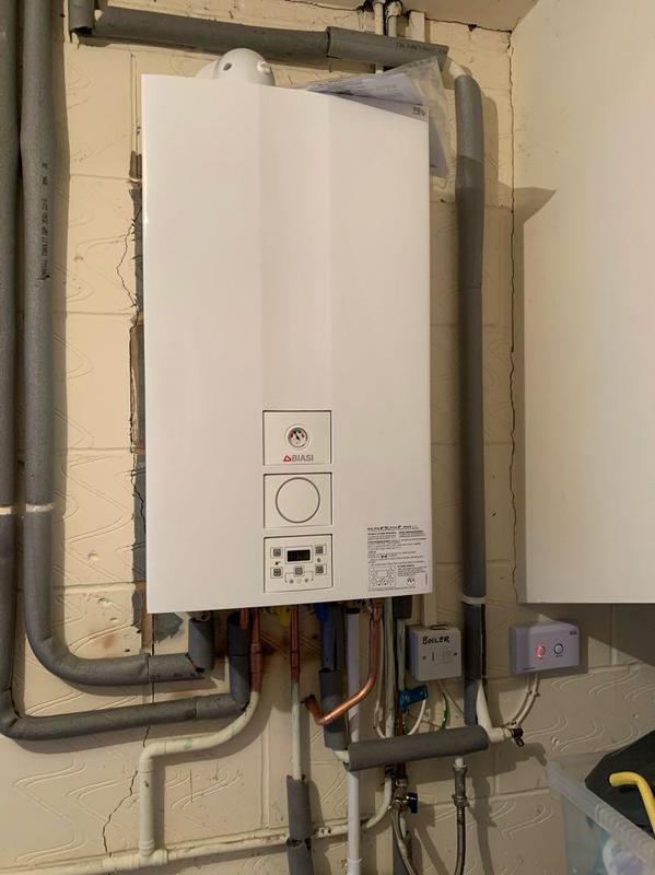 Image 56 - New Biasi combi boiler