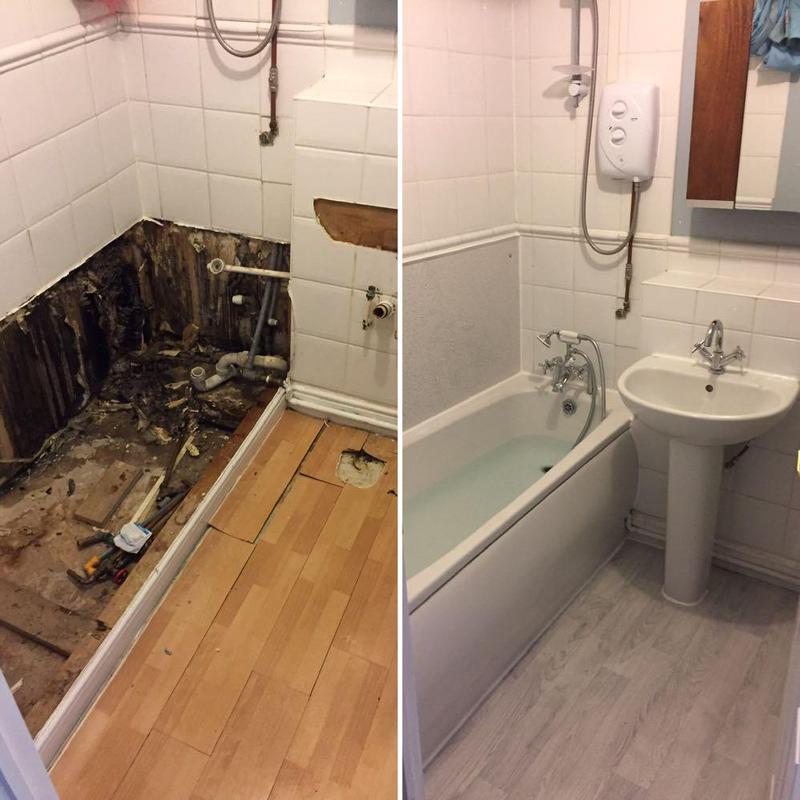 Image 22 - Handy Gentlemen bathroom revamp for a landlord in Clapham junction