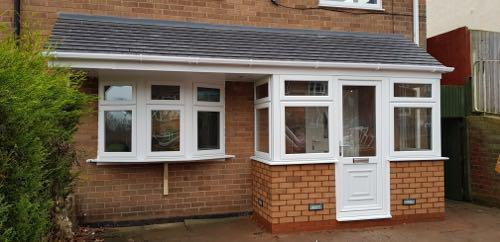 Image 26 - Upvc porch with canopy
