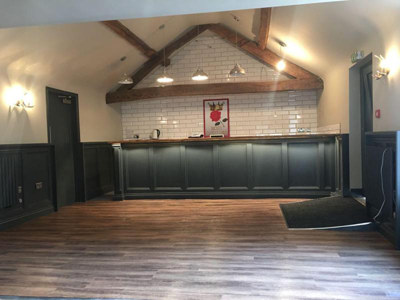Image 9 - refurb on the old rose and crown Tilton