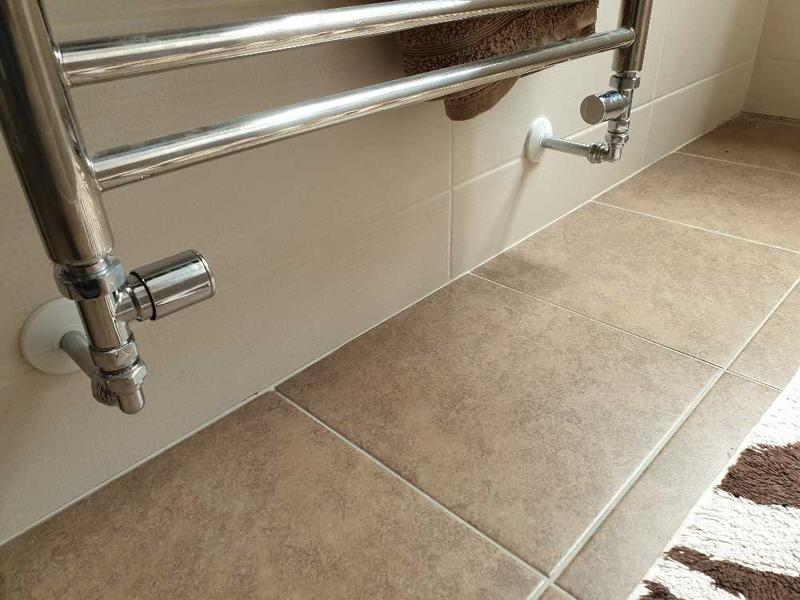Image 43 - Towel rail valve replacement. Staines.