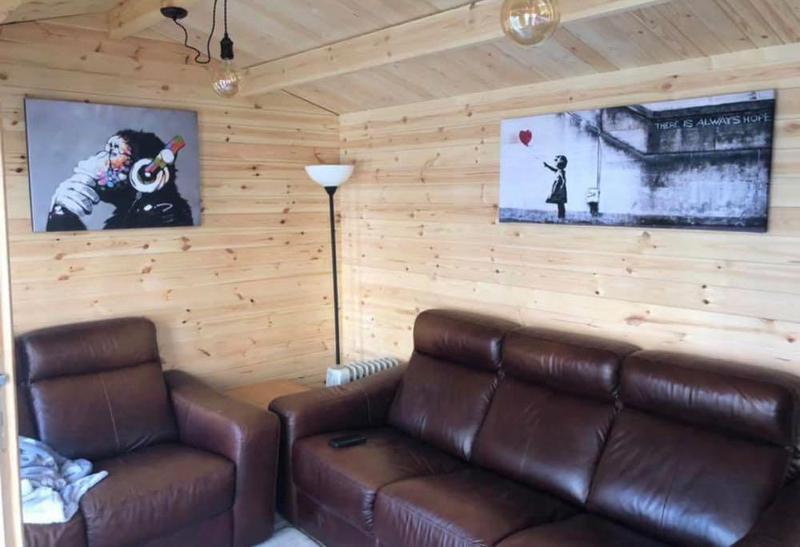 Image 37 - Inside finished summer house