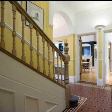 Image 8 - Hallway and hand rails before complete redecoration.