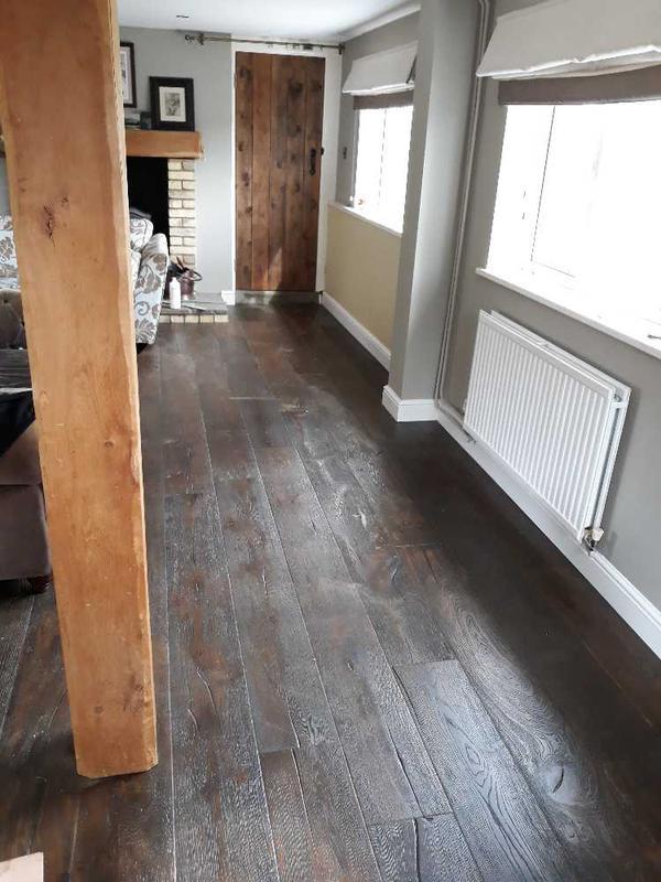 Image 35 - aged oak floor