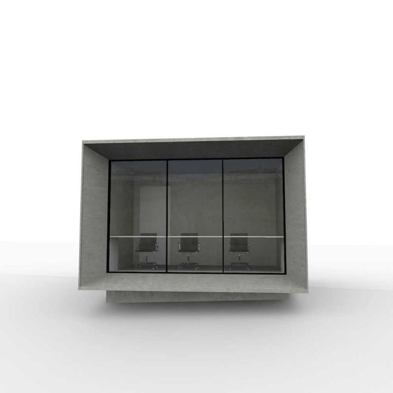 Image 16 - One of many proposed designes of a 'Score Box' for Loughborough university.
