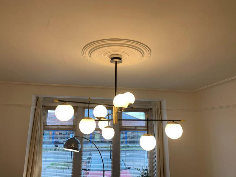 Image 24 - Stunning front room Light fitted today 🙌🏽