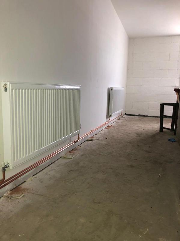 Image 21 - new radiator and valves