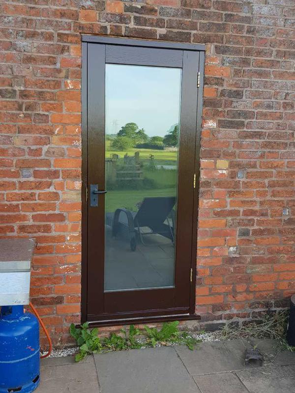 Image 32 - back door completed