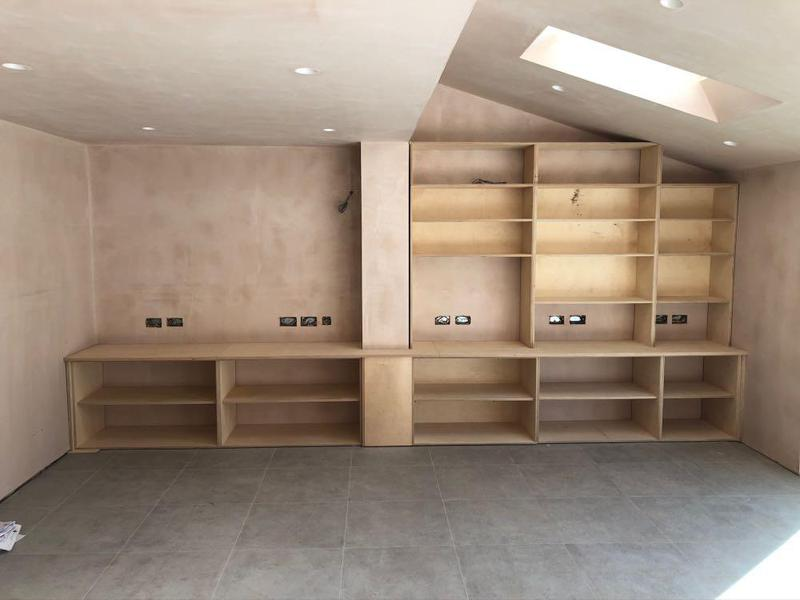 Image 4 - birch plywood bespoke Wall unit