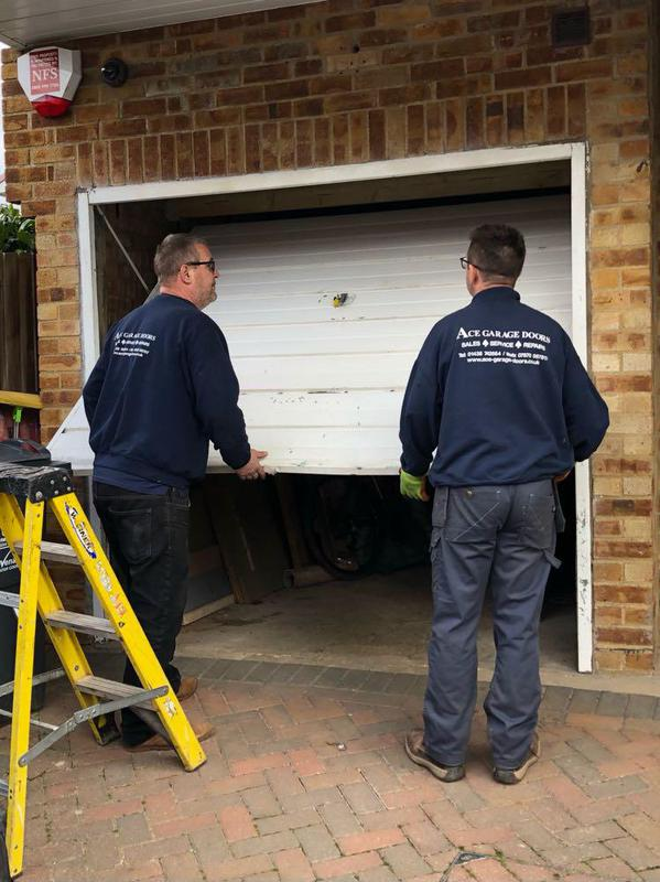 Image 4 - Removing an old door