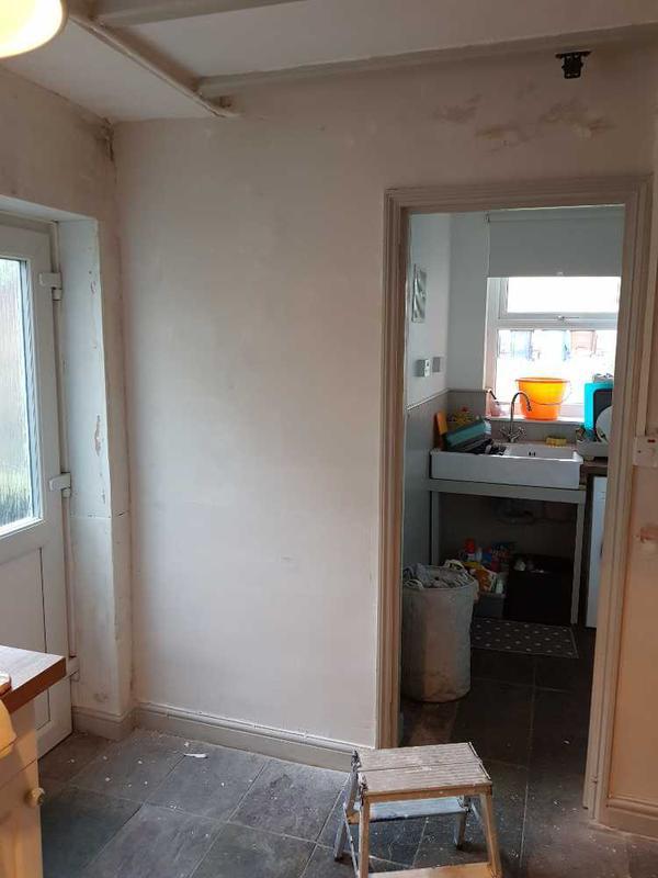 Image 107 - walls re skimmed