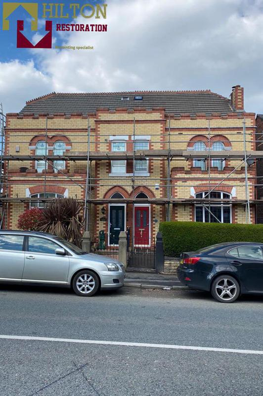 """Image 12 - x2 Houses Repointed in natural Lime Mortar """"Wigan"""""""