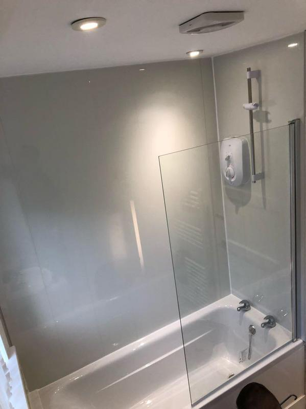 Image 8 - New shower and bath and shower board.