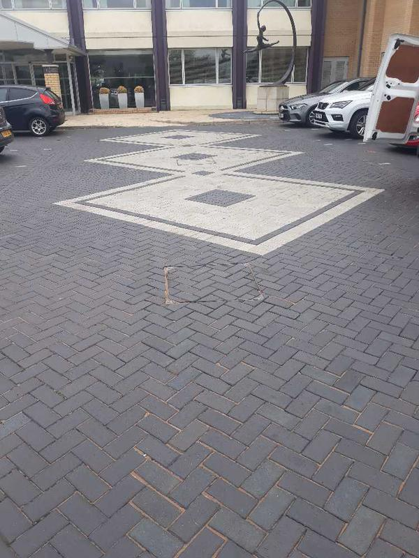 Image 4 - Car park area of Kinect centre we paved.