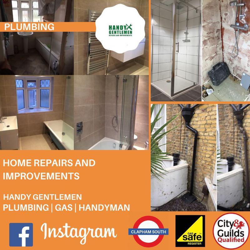 Image 30 - Handy Gentlemen Plumbing repairs and improvements in London