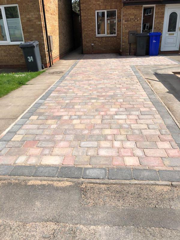 Image 18 - Kevin Russell, driveway completed