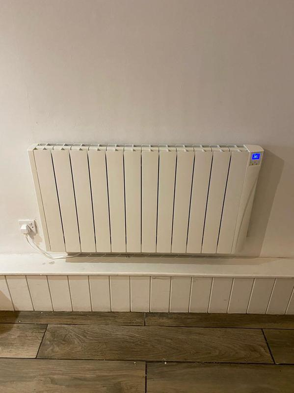 Image 29 - Electric radiator installed for a commercial client