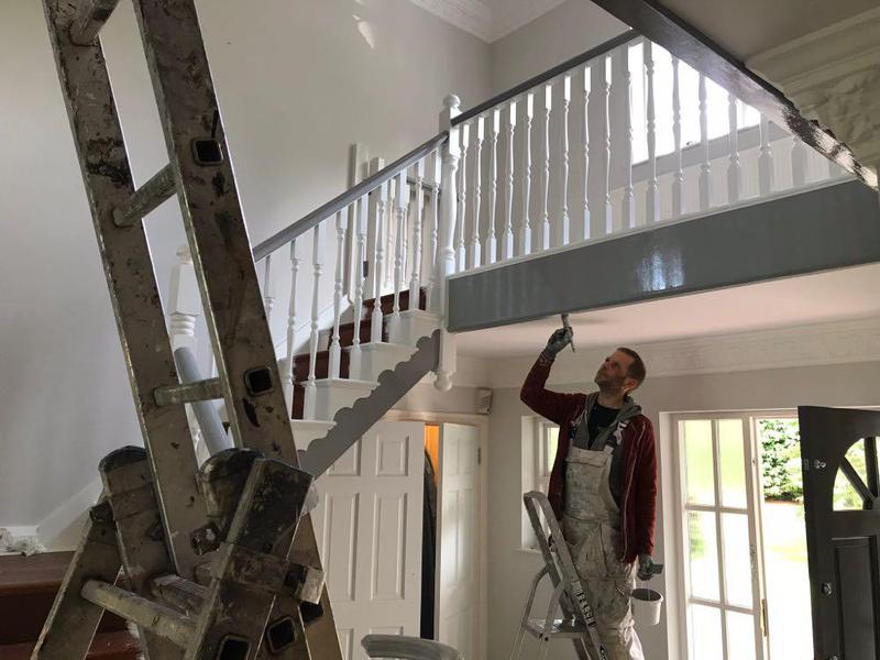 Image 36 - Large Staircace in redditch another happy customer