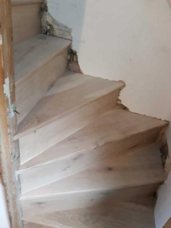 Image 27 - hand crafted oak staircase install