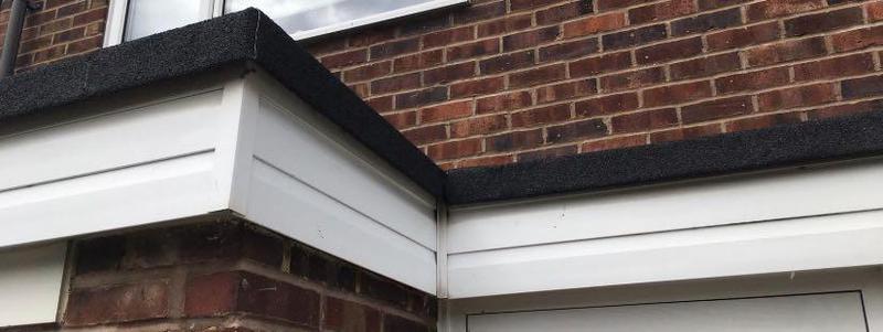Image 17 - Re-felt Flat roof