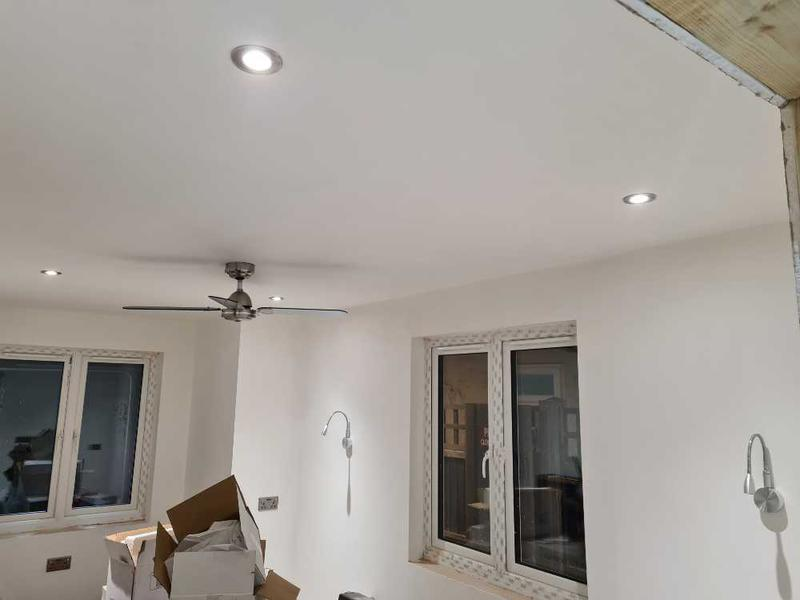 Image 6 - Ceiling Fan, Wall and down lights
