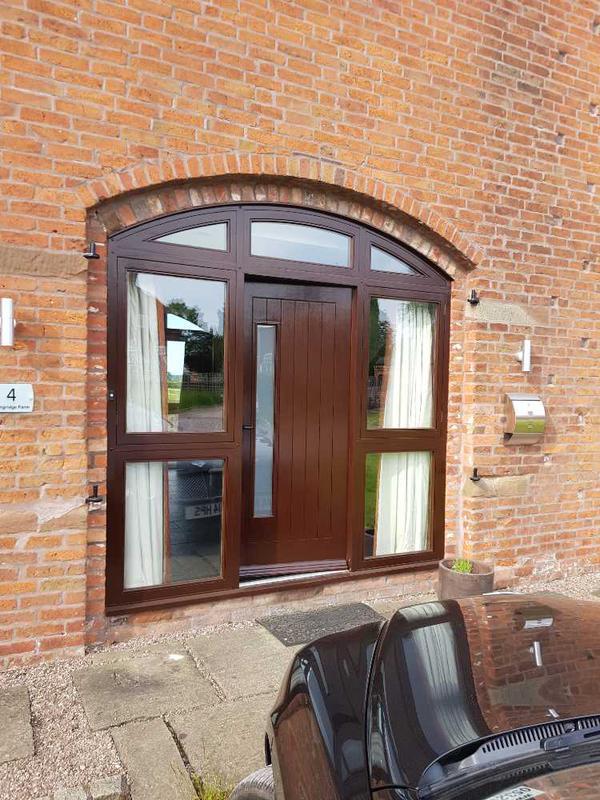 Image 31 - front door completed