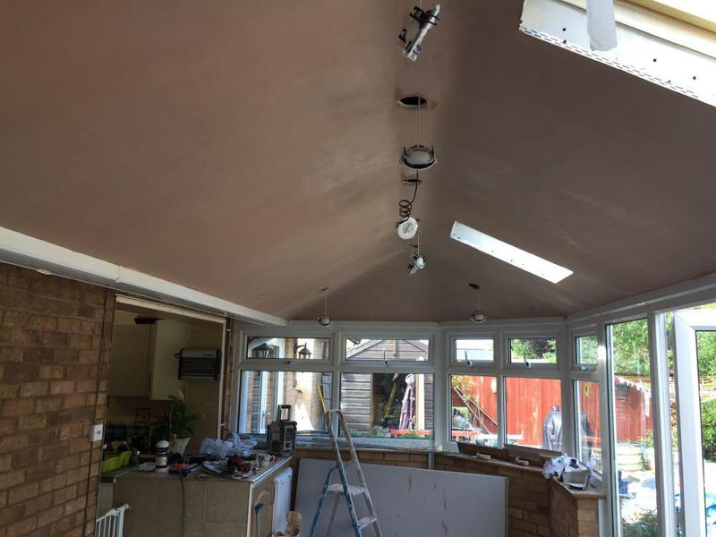 Image 19 - PLASTERING CONSERVATORY CEILING