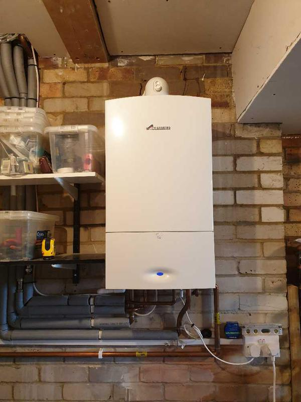 Image 26 - Gas combination boiler removal and repairs, Sunbury #3.