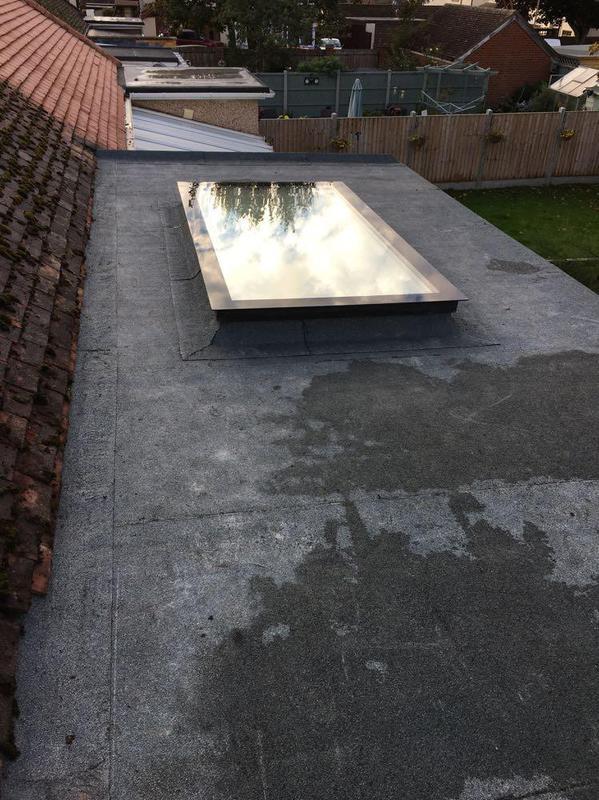 Image 11 - Mineral felt roof