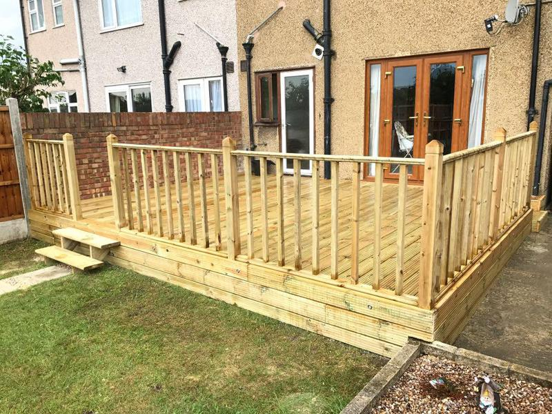 Image 17 - Lovely strong decking.