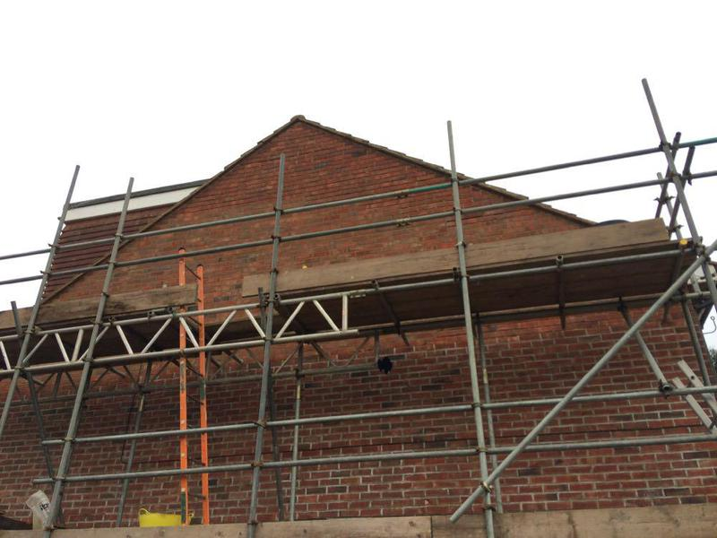 Image 5 - Repointing gable wall sompting