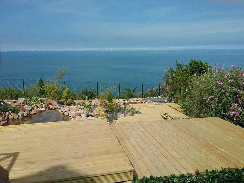 Image 62 - DECKING artificial GRASS panoramic views over the Irish Sea