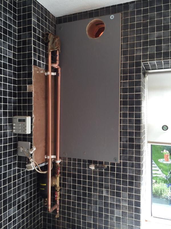 Image 2 - Vaillant Ecotec Plus in old Kitchet
