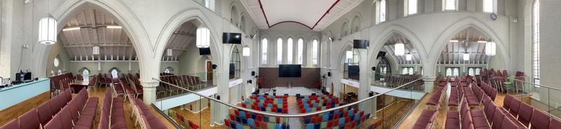 Image 8 - Revamp of an old cathedral with new mezzanine floor