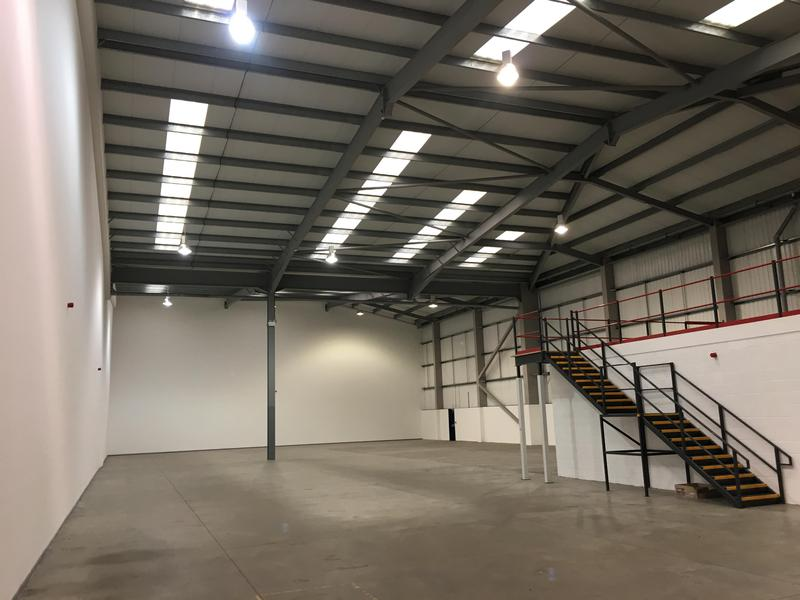 Image 16 - category A fit out in a warehouse