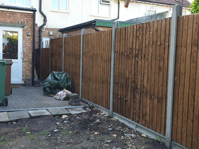 Image 1 - New fence replacement