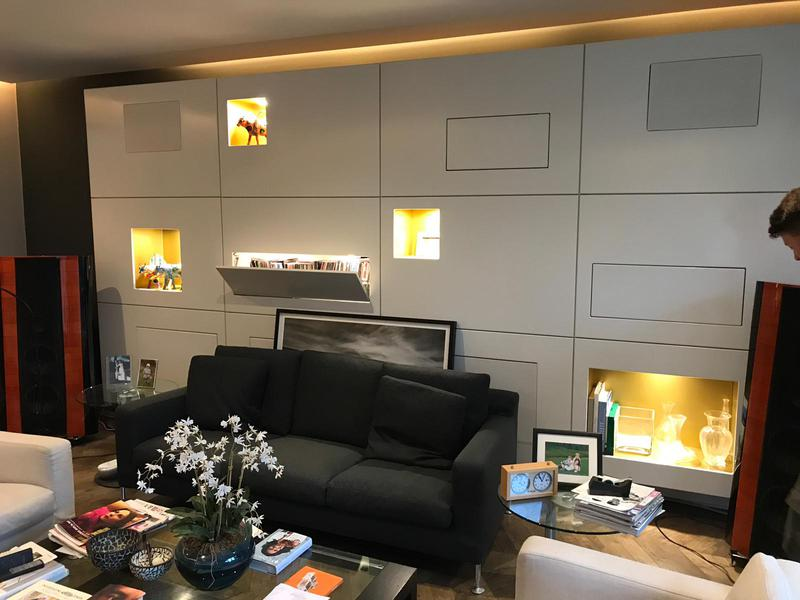 Image 14 - LED tape designer shelf lights.