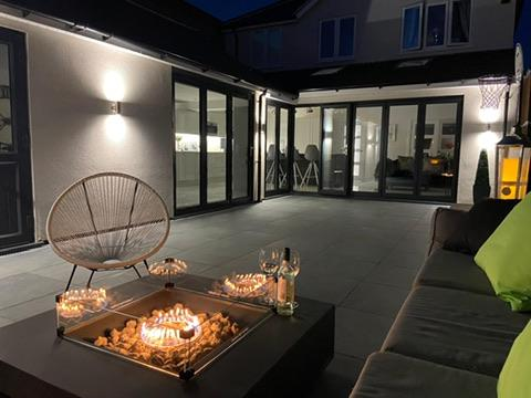 Image 1 - Porcelain patio and Fire pit