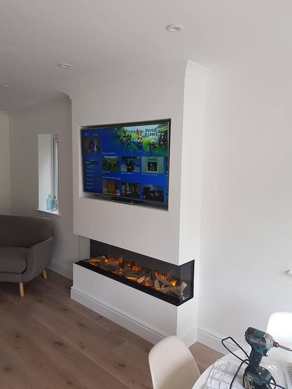Image 4 - tv fire place