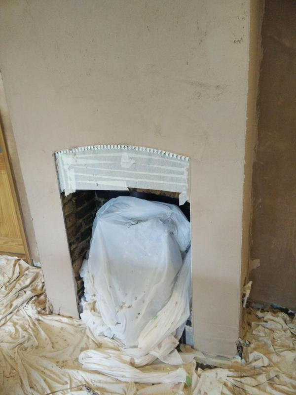 Image 3 - Fireplace during