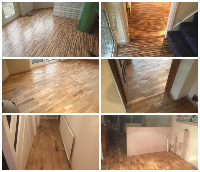 Image 40 - New oak flooring laid in Danbury