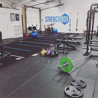 Image 1 - We also do gym flooring! Here we laid a very hard wearing, impact resistant flooring for Stregthbox gym in Wokingham.