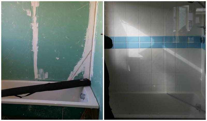 Image 116 - Wall tiling.