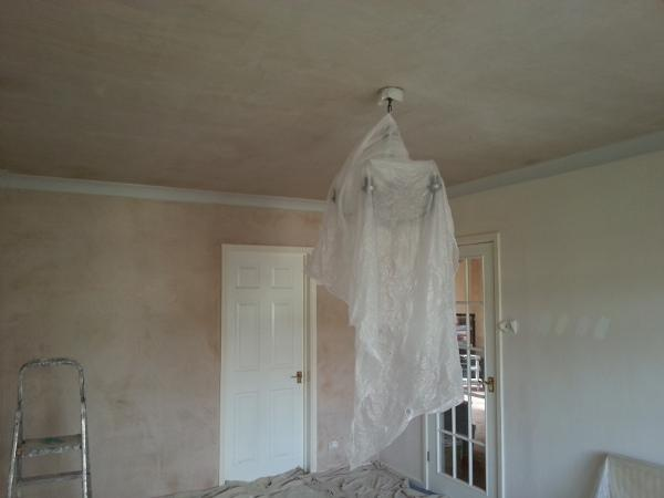Image 1 - Plastering and Painting and 1 ghost Before