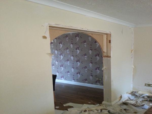 Image 21 - Archway Before