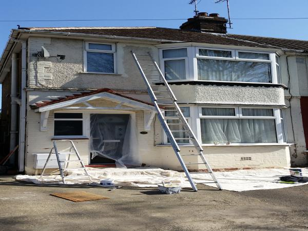 Image 23 - External Redecoration Before