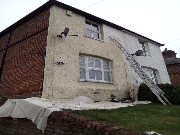 Image 29 - External Redecoration Before