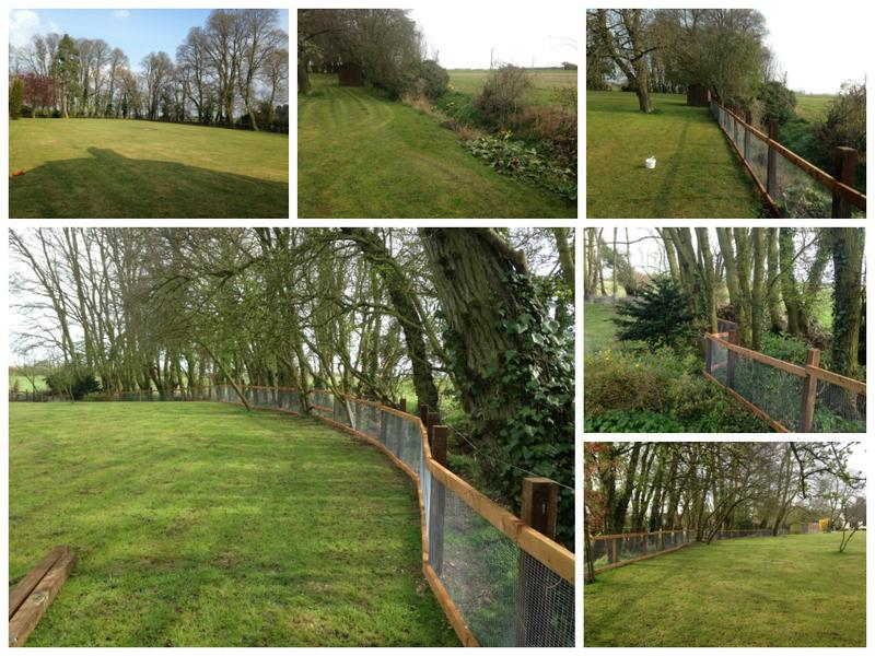 Image 44 - New Fencing in Hatfield peveral